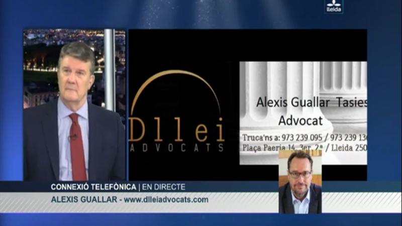 Advocat de guàrdia Diari de Nit LleidaTV